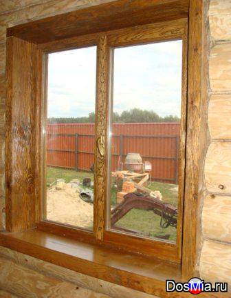 Деревянные окна, изготовление, ремонт, монтаж.