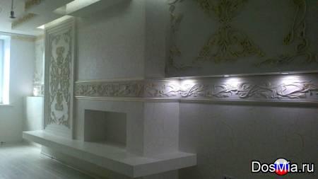 Декорирование каминов