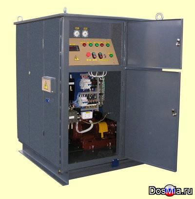 Установки для осушки и очистки от механических примесей трансформаторных