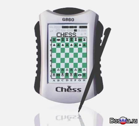 Компактные электронные шахматы/шашки G860
