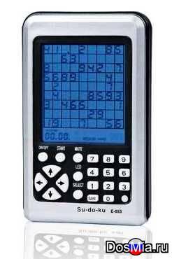 Электронная головоломка Судоку (Sudoku)