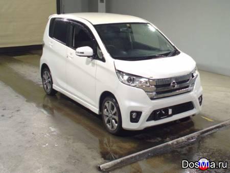 Хэтчбек Nissan Dayz пробег 31000 км., цвет белый без пробега РФ.