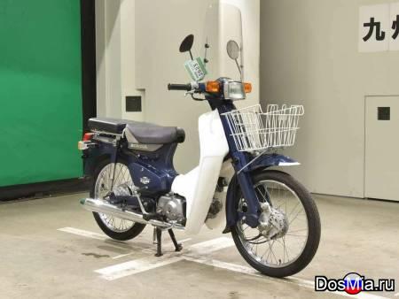 Мотоцикл дорожный Honda C50 Super Cub E рама C50 корзина и двойное сидение