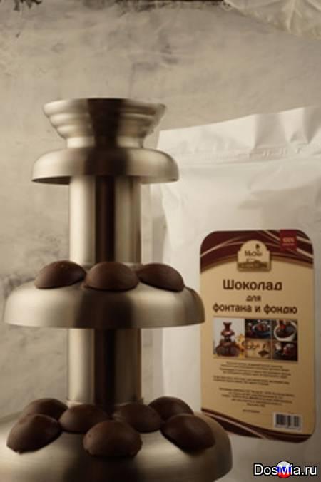 Шоколад бельгийский для фонтана