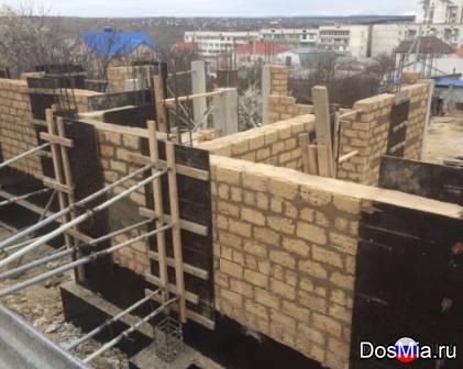 Кладка ракушки, камня француз, газобетона, кирпича, блоков в Севастополе.