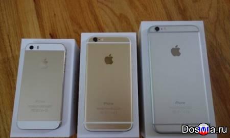 Новые запечатанные iPhone 4s, 5s, 6, 6s, 7, 8, Х (32 Gb, 64 Gb,128 Gb).