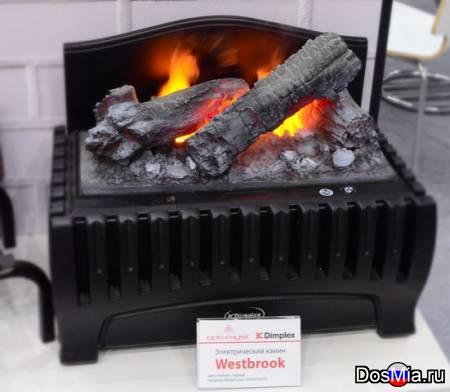 Электрокамины с эффектом пламени 4Д, тепло и уют в каждый дом.