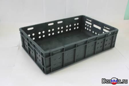 Ящики пластиковые многооборотные, производство.