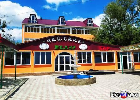 Гостевой дом Ялос на берегу моря, Крым, Береговое, песчаный пляж.