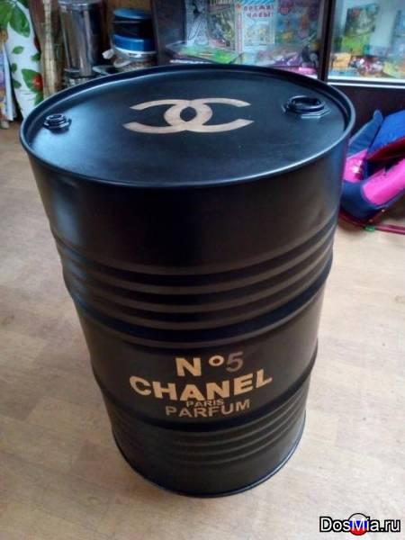 Декоративные бочки 200, 100, 60 литров.