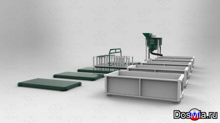 Оборудование для производства газобетона, пенобетона.