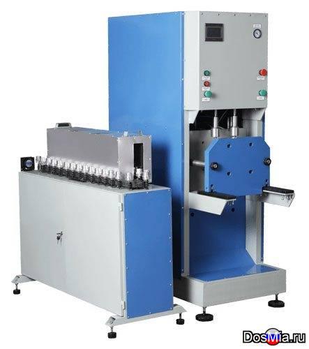 Полуавтомат выдува пэт-тары ПВ-800, 0,2-2,5 л., 16 Атм.