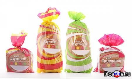 Фасовочный викет-пакет для упаковки хлеба, оптом от 3000 шт.