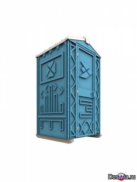 Новая туалетная кабина, биотуалет Ecostyle.