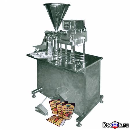 Полуавтомат для фасовки пастообразных продуктов в Дой Пак