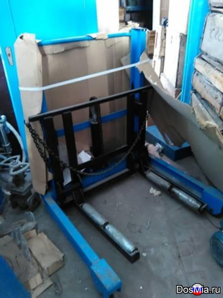 Тележка для снятия и транспортировки колес тгп-1