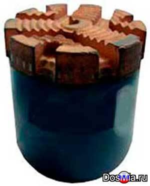 Алмазные долотчатые коронки (ССК) 30И3, 30И4