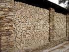 Мозаика окатанная из песчаника природного