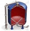 Нижние и верхние распределительные (НРУ, ВРУ) устройства для фильтров.